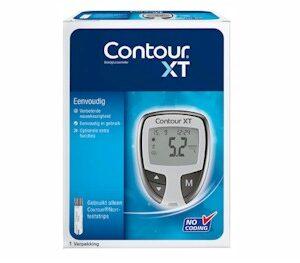 contour XT bloedsuikermeter/ glucosemeters star