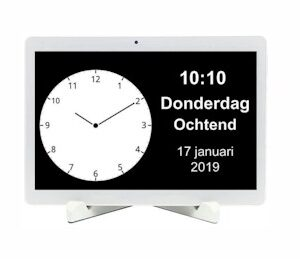 Dementieklok BBrain Family D2 - Nederlandstalig