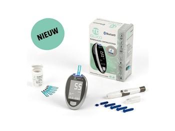 HT One TD-Gluco Bluetooth Bloedsuikermeter Startpakket incl.50 strips