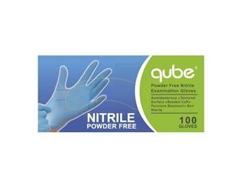 Nitrile handschoenen per doos 100 stuks