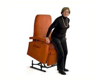 Fitform vario 570 sta-opstoel en relaxfauteuil nieuw