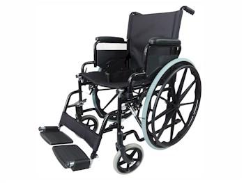 standaard rolstoel met grote wielen - opvouwbaar