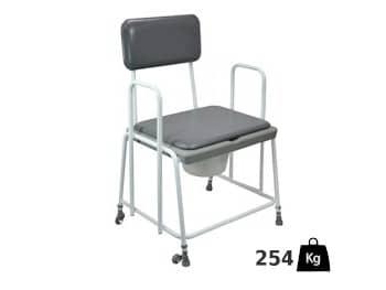 XL toiletstoel- belastbaar tot 254 kilo