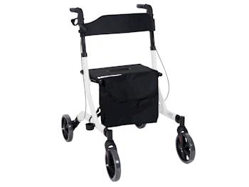 2-in-1 lichtgewicht rollator en rolstoel