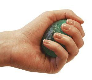 Eggsercizer handtrainer in diverse weerstanden