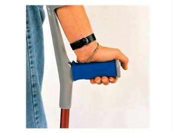 Zachte handgreep polster voor elleboogkrukken per stuk