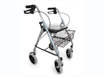 Lichtgewicht vierwiel rollator Budget