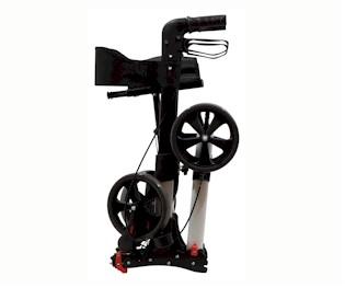 zeer compact opvouwbare lichtgewicht rollator