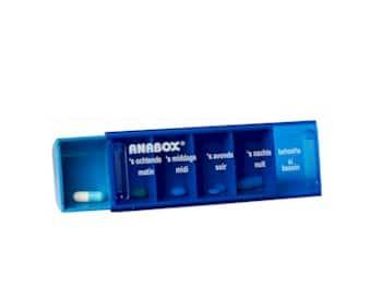 Anabox dagbox pillendoosje