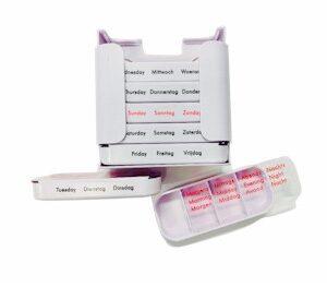 Medicijn weekcassette
