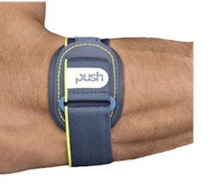 push sports elleboogbrace voor een tennisarm