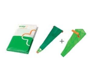 Sim Slide aan- en uittrekhulp elastische kousen open teen