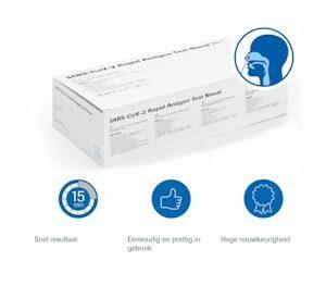Ondiepe neustest / Coronasneltest zelftest - Roche verpakking a 25 testen