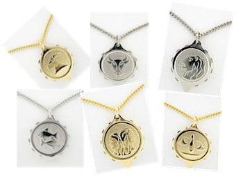 SOS talisman halsketting met sterrenbeeld