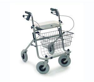Standaard vierwiel rollator Ergo