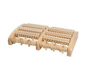 voet massage roller hout