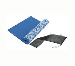 yoga mat met print inclusief draaagtas